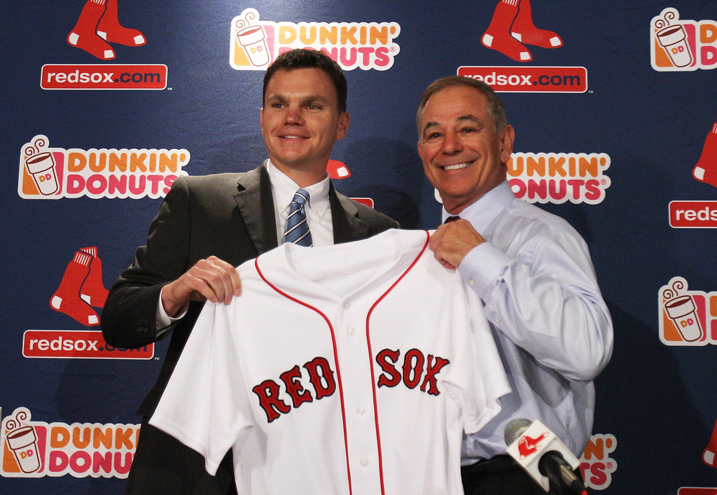 Ben Cherington In Boston Red Sox Introduce Bobby Valentine   Zimbio