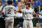 Jacoby Ellsbury Mike Aviles Photos Photo