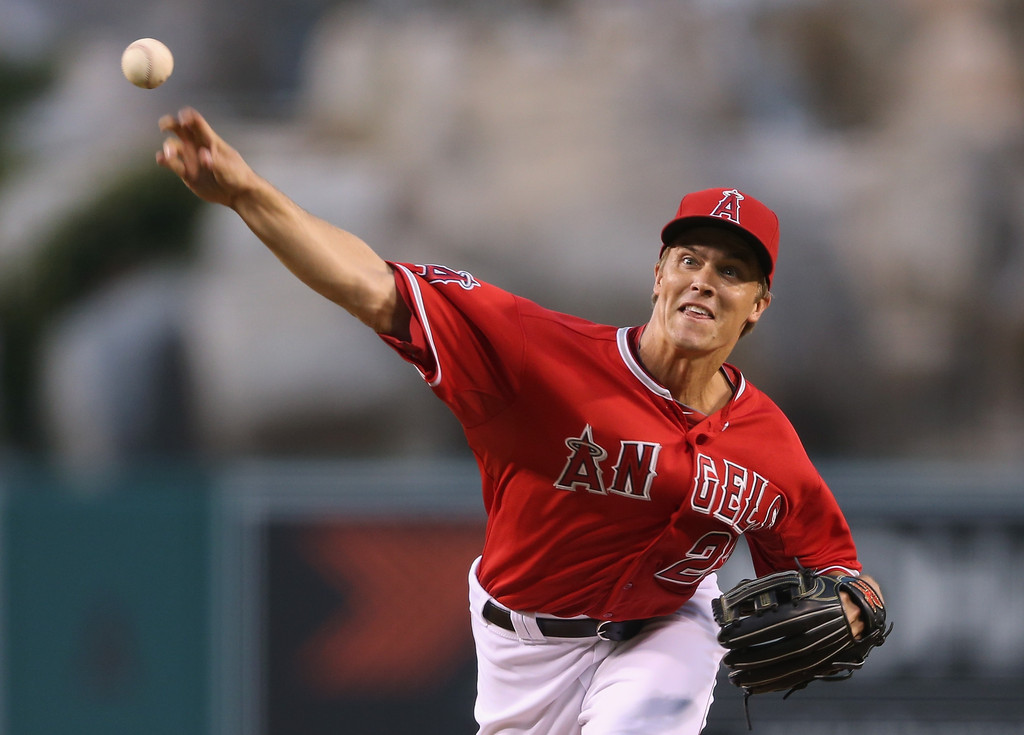Zack Greinke - Zack Greinke Photos - Boston Red Sox v Los Angeles ...