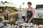 Antoni Porowski  as Boursin and Antoni Porowski Host Farm Fresh Fete Entertaining Evening at a Private Residence on April 24, 2019 in Los Angeles, California.