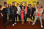"Cast and crew of ""The Boy Band Con: The Lou Pearlman Story"" attend the ""The Boy Band Con: The Lou Pearlman Story"" Premiere - 2019 SXSW Conference and Festivals at Paramount Theatre on March 13, 2019 in Austin, Texas."