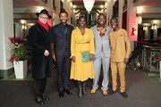 "(L-R) Festival director Dieter Kosslick, director Chiwetel Ejiofor, Aissa Maiga, William Kamkwamba and Maxwell Simba attend the premiere for the screening of the Netflix film ""The Boy Who Harnessed The Wind"" during the 69th Berlinale International Film Festival Berlin at Friedrichstadtpalast on February 12, 2019 in Berlin, Germany."