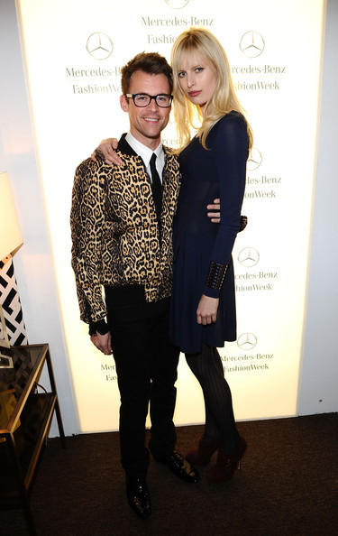Brad Goreski Stylist Brad Goreski and model Karolina Kurkova attend Mercedes-Benz Fashion Week Fall 2011 at Lincoln Center on February 15, 2011 in New York City.