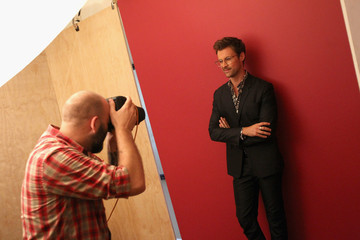 Brad Goreski Behind The Scenes Of The Getty Images Portrait Studio Powered By Samsung Galaxy At 2015 Summer TCA's