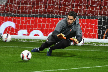Brad Jones Feyenoord Training Session and Press Conference