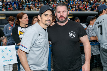 Brad Paisley Celebrities Attend Charity Softball Game To Benefit California Strong