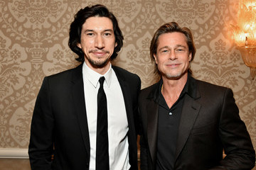 Brad Pitt Adam Driver 20th Annual AFI Awards - Awards Reception