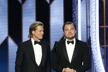 Brad Pitt Leonardo DiCaprio NBC's '77th Annual Golden Globe Awards' - Show