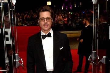 "Brad Pitt ""Fury"" - Closing Night European Premiere Gala Red Carpet Arrivals - 58th BFI London Film Festival"