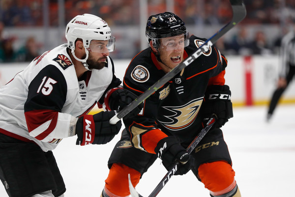 Arizona Coyotes vs. Anaheim Ducks