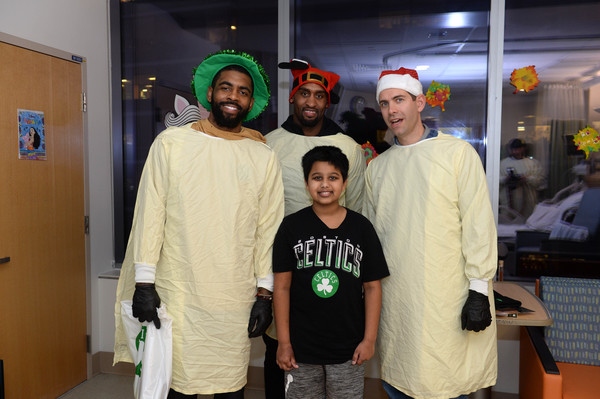 Boston Celtics Spread Holiday Cheer By Caroling And Crafting With Patients At Boston Children's Hospital