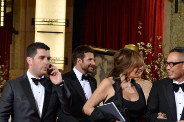 Bradley Cooper Stars Leave the Academy Awards