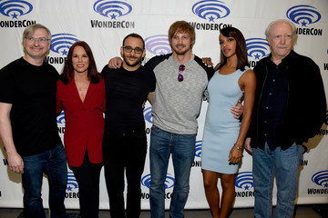 Bradley James Glen Mazzara WonderCon 2016 - Day 1