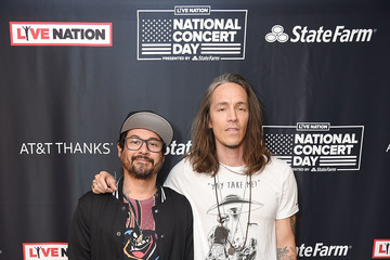 Brandon Boyd Live Nation Celebrates The 3rd Annual National Concert Day