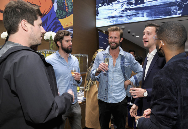 Breitling Boutique Los Angeles Welcomes Armie Hammer And Elvis Mitchell To Unveil The All-New Breitling Premier Collection Of Watches