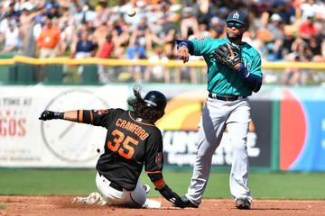 Brandon Crawford Seattle Mariners Vs. San Francisco Giants