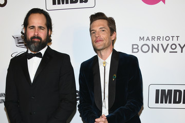Brandon Flowers Ronnie Vannucci Jr Marriott Bonvoy Moments At The 27th Annual Elton John AIDS Foundation Academy Awards Viewing Party Celebrating EJAF And The 91st Academy Awards - Arrivals