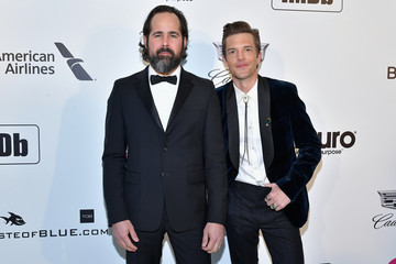 Brandon Flowers Ronnie Vannucci Jr 27th Annual Elton John AIDS Foundation Academy Awards Viewing Party Celebrating EJAF And The 91st Academy Awards - Arrivals