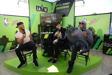 Brandon Ingram Mtn Dew Kickstart Brings Fan Closer Than Courtside at Courtside Studios During All-Star Weekend
