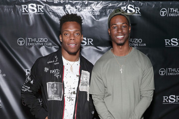 Brandon Marshall The Thuzio Executive Club and Rosenhaus Sports Representation Party During Super Bowl Weekend