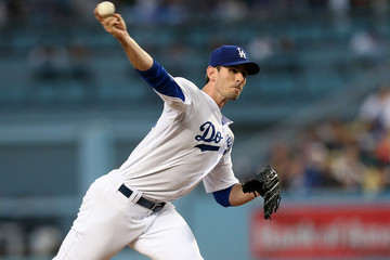 Brandon McCarthy Seattle Mariners v Los Angeles Dodgers