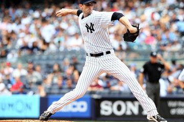 Brandon McCarthy Cincinnati Reds v New York Yankees