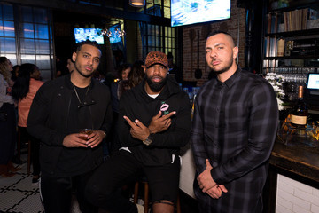 Brandon Williams CAA & Remy Martin Private Event at Luchini Pizzeria