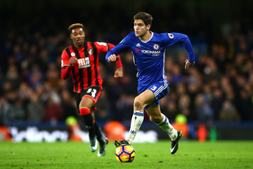 Branislav Ivanovic Chelsea v AFC Bournemouth - Premier League