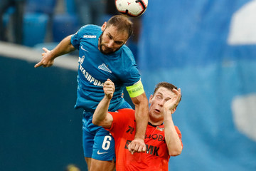 Branislav Ivanovic FC Zenit Saint Petersburg vs. FC Ural Ekaterinburg - Russian Premier League