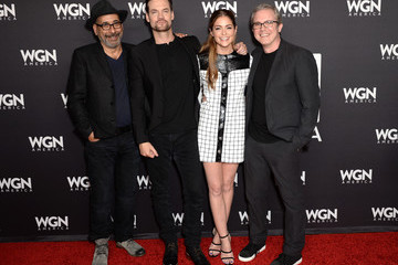 Brannon Braga Stars of WGN America's 'Salem,' 'Outsiders,' and 'Underground' Attend the Network's Cocktail Reception During New York Comic Con 2016