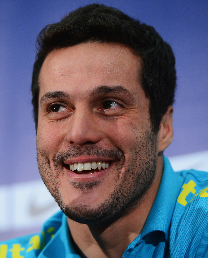 Julio Cesar in Brazil Training and Press Conference - Zimbio