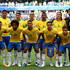 Alisson Gabriel Jesus Photos - Brazil pose for a  team photo during the 2018 FIFA World Cup Russia Round of 16 match between Brazil and Mexico at Samara Arena on July 2, 2018 in Samara, Russia. - Brazil vs. Mexico: Round of 16 - 2018 FIFA World Cup Russia