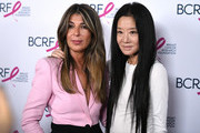 Nina Garcia and Vera Wang attend the Breast Cancer Research Foundation (BCRF) New York symposium & awards luncheon on October 17, 2019 in New York City.