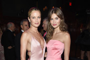 Carolyn Murphy and Grace Elizabeth attend the Hot Pink Party hosted by the Breast Cancer Research Foundation at Park Avenue Armory on May 15, 2019 in New York City.