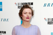 """Camilla Rutherford attends the European Premiere of """"Breathe"""" on the opening night gala of the 61st BFI London Film Festival on October 4, 2017 in London, England."""