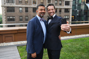 """President of Breguet North America Ahmad Shahriar (L) and Ian Bohen attend the Breguet """"Classic Tour"""" at Carnegie Hall on July 12, 2018 in New York City."""