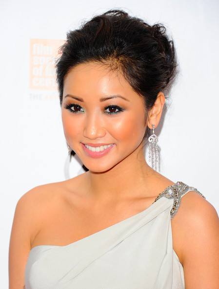 Brenda Song Actress Brenda Song, wearing Tiffany & Co jewlrey attends the ...