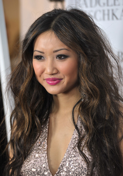 Brenda Song Actress Brenda Song arrives to the opening of the Badgley Mischka Flagship Store on Rodeo Drive on March 2, 2011 in Beverly Hills, California.