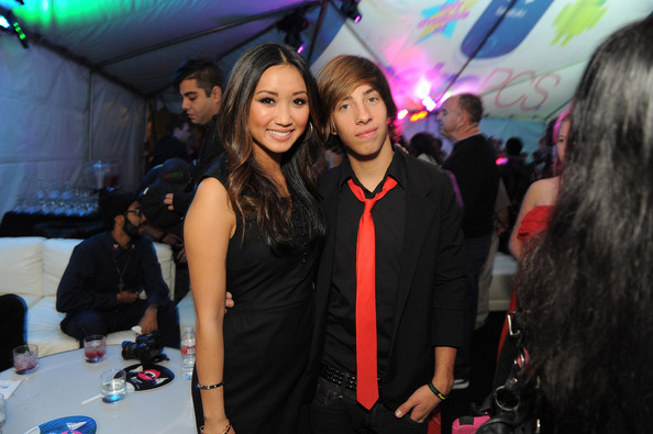Brenda Song Event co-host, actress Brenda Song and actor Jimmy Bennett attend the launch of the MetroPCS Huawei M835 sanctioned by tokidoki at the tokidoki flagship store on November 3, 2011 in Los Angeles, California. Phones will be available in retail stores on November 18, 2011. 15% of all sales from the evening went to 1love.org, benefiting random acts of kindness everywhere.