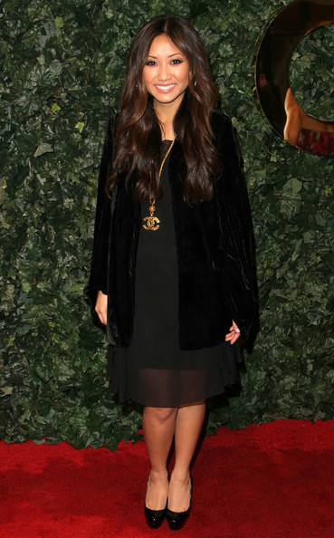 Brenda Song Actress Brenda Song arrives at QVC Red Carpet Style Party on February 25, 2011 in Los Angeles, California.