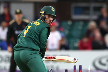 Brendan Taylor Leicestershire Foxes v Nottinghamshire Outlaws - NatWest T20 Blast