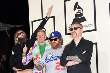 Brent Hinds 57th GRAMMY Awards - Arrivals