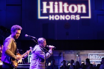 Brent Kutzle Hilton Celebrates 'Music Happens Here,' a First of Its Kind Integrated Music Program, With Exclusive OneRepublic Concert Just for Hilton Honors Members