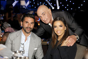 (L-R) José Bastón, Robert Shapiro, and Eva Longoria attend Brent Shapiro Foundation Summer Spectacular 2019 at The Beverly Hilton Hotel on September 21, 2019 in Beverly Hills, California.