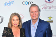 Kathy Hilton and Rick Hilton attend The Brent Shapiro Foundation Summer Spectacular on September 7, 2018 in Beverly Hills, California.