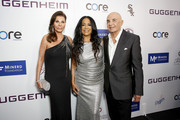 (L-R) Linell Shapiro,  Sheila E., and Robert Shapiro attend Brent Shapiro Foundation Summer Spectacular 2019 at The Beverly Hilton Hotel on September 21, 2019 in Beverly Hills, California.