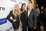 (L-R) Adrienne Maloof, Linell Shapiro and  Robert Shapiro attend Brent Shapiro Foundation Summer Spectacular 2019 at The Beverly Hilton Hotel on September 21, 2019 in Beverly Hills, California.