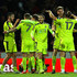 Alan Smith Photos - Notts County players celebrate their win after The Emirates FA Cup Third Round match between Brentford and Notts Country at Griffin Park on January 6, 2018 in Brentford, England. - Brentford v Notts County - The Emirates FA Cup Third Round
