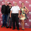 Bret Easton Ellis 'The Canyons' Photo Call in Venice