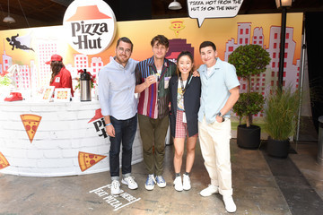 Brett Dier Pizza Hut Lounge At 2019 Comic-Con International: San Diego